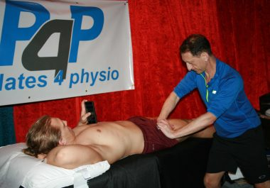 Physiotherapy Backstage